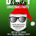 Copy of Dirty Cool Santa Gift Exchange Flyer - Made with PosterMyWall