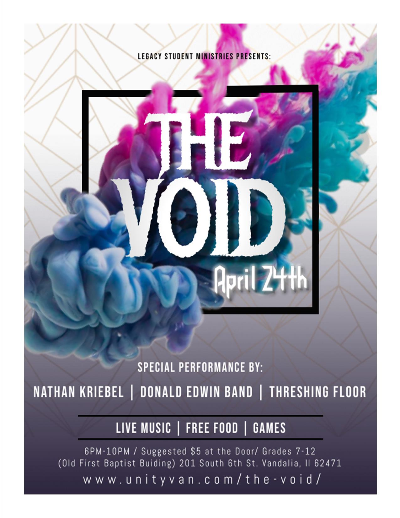 The Void April 24th 1